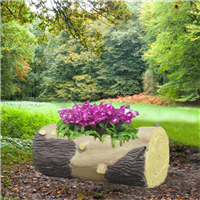 仿木工艺花箱――可现场加工制作的花箱
