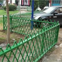 福建厦门道路护栏仿竹绿化护栏铝艺栅栏大门