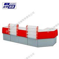 业神制造 商超货架 供应便利店收款台YS-022
