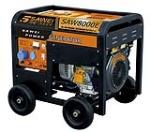 供应8KW电启动汽油发电机