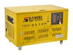 供应开架式15千瓦燃气发电机组