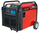 供应应急5千瓦超静音汽油发电机