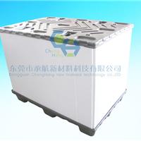 供应东莞中空板围板箱,折叠式围板箱