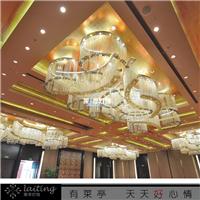 莱亭灯饰专业生产酒店工程售楼部吊灯灯具