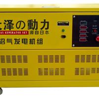 20kw静音式沼气发电机
