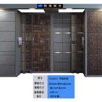 供应抽拉式单面瓷片展示柜,瓷砖展柜,定制