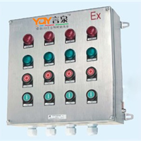 BXK8061-D8K4不锈钢防爆防腐控制箱10A380V