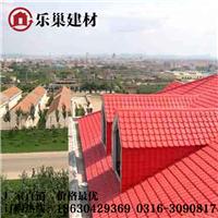 张家口ASA表层合成树脂瓦 不退色的屋面瓦!