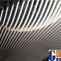 室内造型铝方通吊顶 外墙装饰弧形铝方通