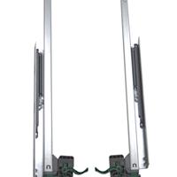 供应400mm隐藏式阻尼二节滑轨 NZ-Y0001