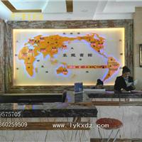 酒店前台背景墙装饰-新款世界时钟