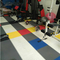 健身房专用地板,健身房地板,选惟迈思软地砖