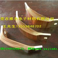 电动机车铜软连接、导电软铜排