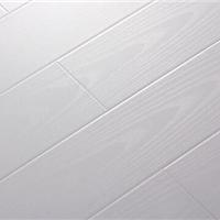 纯白真木纹 拉丝 浮雕 高耐磨 强化地板