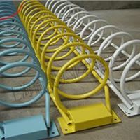 圆笼自行车停车架、卡位自行车停车架