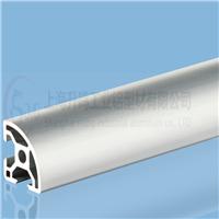 铝型材3030半圆弧 框架铝型材 流水线型材