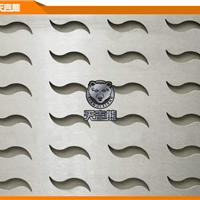 供应金属冲孔板 不锈钢冲孔板  异形冲孔板