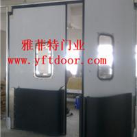 供应不锈钢防撞门自由门洁净平开门