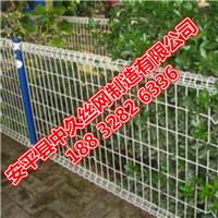 安平厂家绿色双边丝护栏网高速公路护栏网