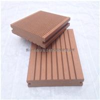 供应广东厂家森绿塑木板145-25MM双面实心板