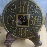 供应铝铜雕中国风艺术品招财进宝