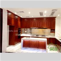整体厨房家具经典原木定制
