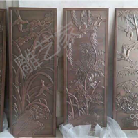 铝雕中国风装饰梅花