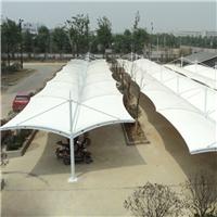 供应膜结构 钢结构 汽车棚车棚 遮阳棚