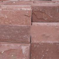 供应高粱红蘑菇石外墙砖|红色外墙砖|