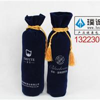 郑州供应红酒绒布袋,绒布礼品袋价格优惠