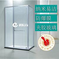 广东淋浴房 酒店整体浴室玻璃房定制