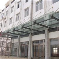 供应陕西玻璃雨篷、钢结构雨篷