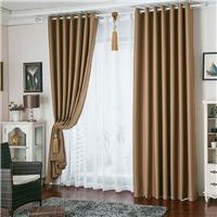 供应酒店窗帘遮光布 款式可任意定制
