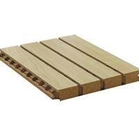 学校槽木吸音板