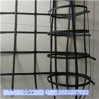 供应耐开裂钢塑复合路基用钢塑土工格栅