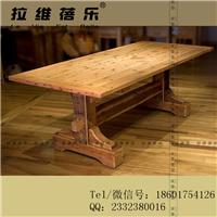 咖啡厅实木长桌定制咖啡厅实木长桌生产厂家