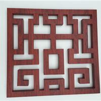 热转印木纹铝窗花加工工艺和价格