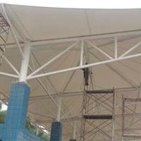 杭州学校看台雨棚|校园停车棚_自行车棚定做