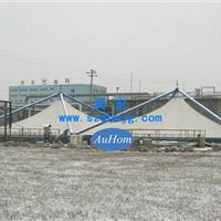 污水池加盖膜结构|反吊氟碳纤维膜|奥宏