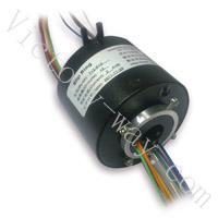 供应过孔12.7mm精密导电滑环 中心孔滑环