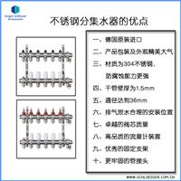 预调型不锈钢分集水器