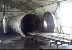 供应防腐木加工罐炭化罐炭化木生产设备