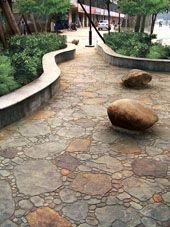 三沙市彩色水泥压花地坪|混凝土压花地坪