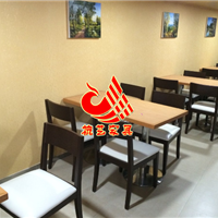 铁制脚饭店桌椅价格_实木做旧餐厅家具桌子