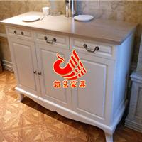 杭州餐厅欧式备餐柜|边柜|欧式餐厅装饰柜图