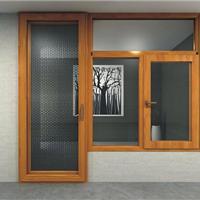 巴森78系列铝木复合门窗