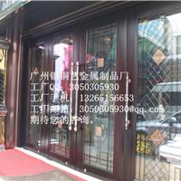 钛金不锈钢门 不锈钢商铺不锈钢玻璃门订做
