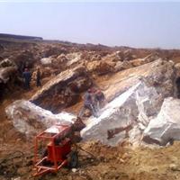 玉矿替代爆破无裂纹开采设备高效安全劈裂机