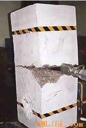 河南混凝土破拆设备替代风镐破碎锤--劈裂机