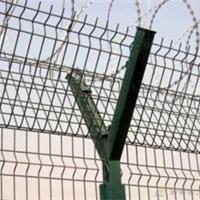 供应狱防护网/Y形护栏/刀片滚轮护栏
